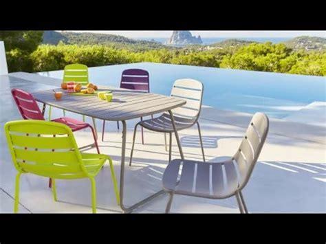 mobilier de jardin collection mobilier de jardin 2016 hyba chez carrefour la ligne acier 151