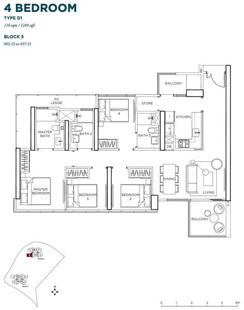 gem floor plan gem residences singapore new condo launch in toa payoh