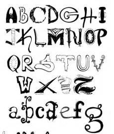graffiti 5 free different alphabet fonts pictures