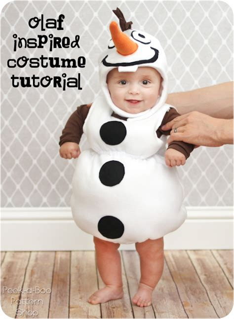 olaf costume olaf inspired costume tutorial peek a boo pages sew something special