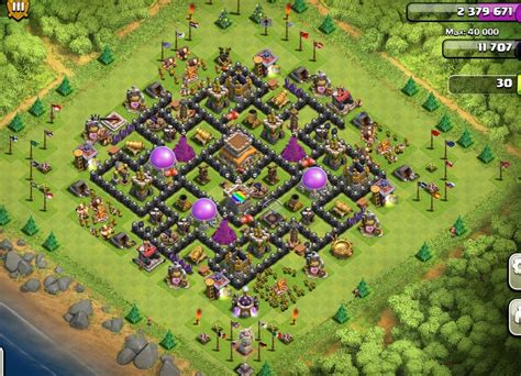 clash of clans best th 8 trophyclan war base th8 4 best th8 base 4 mortars www pixshark com images