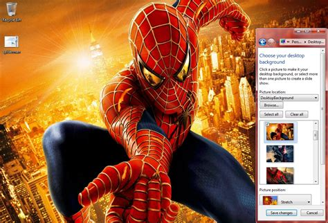 Download Spiderman Themes For Pc | spiderman windows 7 theme download