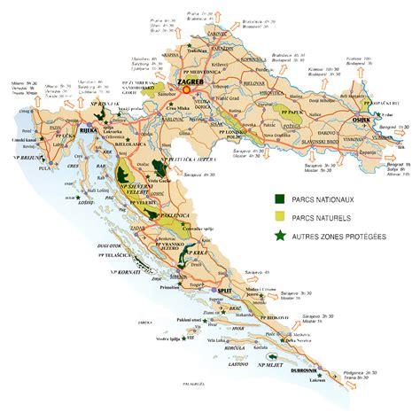 Kroatien Argentina La G 233 Ographie De La Croatie