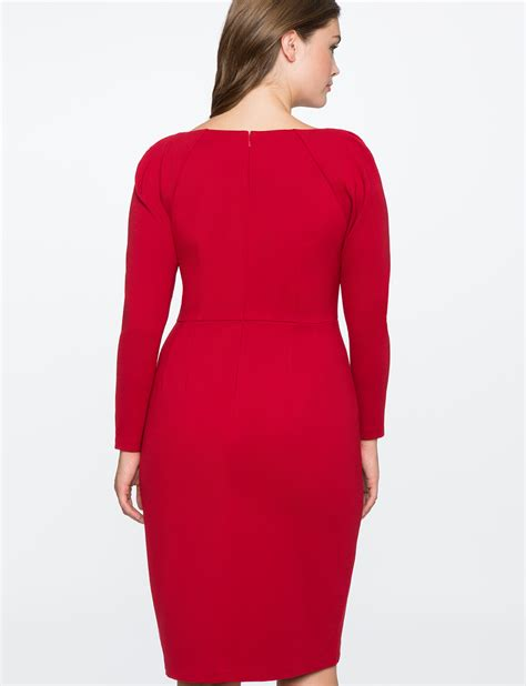 Twist Front Dress by Twist Front Dress S Plus Size Dresses Eloquii