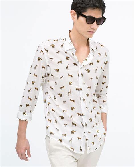 Zara Palm V Neck Shirt 25 best s fashion images on zara