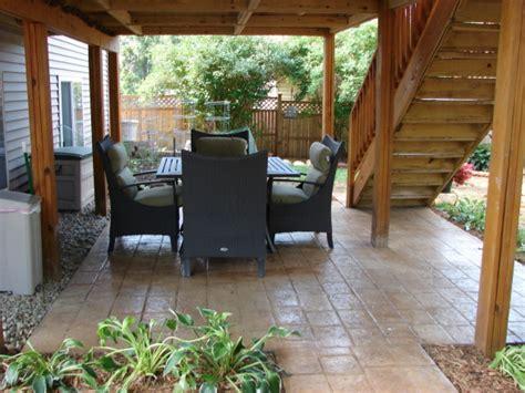 Patio Under Deck Design Ideas Patio Under Deck Design Ideas How To Make A Garden Out Of