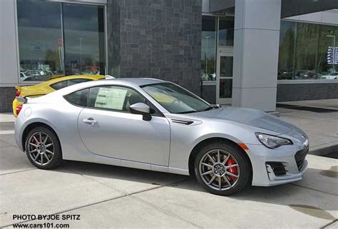 brz subaru silver 2017 silver subaru brz limited with optional