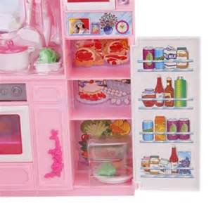 barbie kitchen furniture dollhouse furniture full kitchen refrigerator fridge