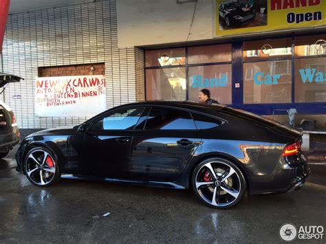 Audi Rs7 Gewicht by Audi Rs7 Sportback 2 Januar 2015 Autogespot