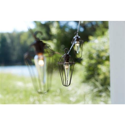 cafe string lights outdoor retro mercury 8 light outdoor patio cafe string light