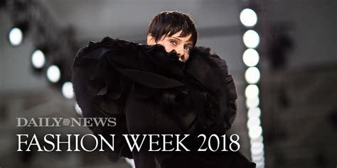What Theyre Saying New York Fall Fashion Week 2007 Morphine Generation by New York Fashion Week Fall Winter 2018 Ny Daily News