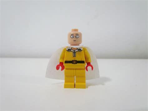 Lego Minifigure 79 custom saitama one punch lego minifigure