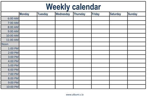 printable weekly calendar with hours printable calendar 2017 weekly calendar with time slots printable 2017 calendars