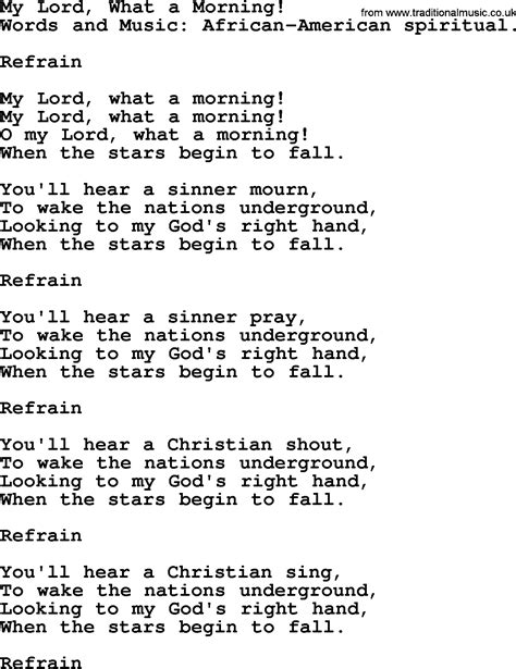 songs and hymns about jesus second coming my lord what