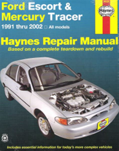 online car repair manuals free 1997 ford escort regenerative braking 1991 2002 ford escort mercury tracer haynes repair manual