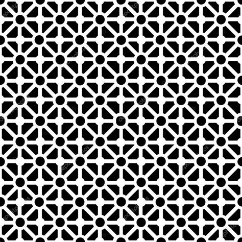 Stock Interiors Carpet by Geometric Seamless Pattern In Black And White Stock