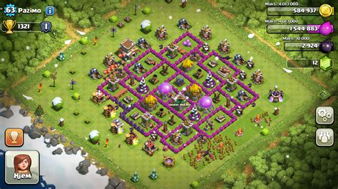 layout village clash of clans best town hall level 8 base layouts in clash of clans