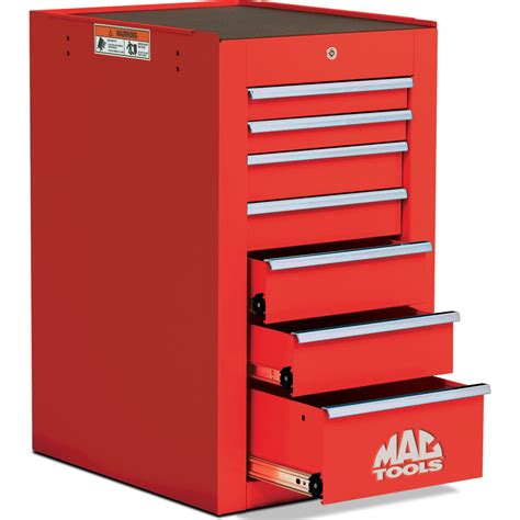 Mac Tool Box Side Cabinet by Mactools Uk 7 Drawer Tech Series Side Cabinet