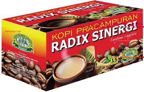 Kopi Radix Sinergi 7 Herba Pilihan Kopi Radix Pak Haji Hpa jual kopi pracuran radix sinergi 7 herba aliifa