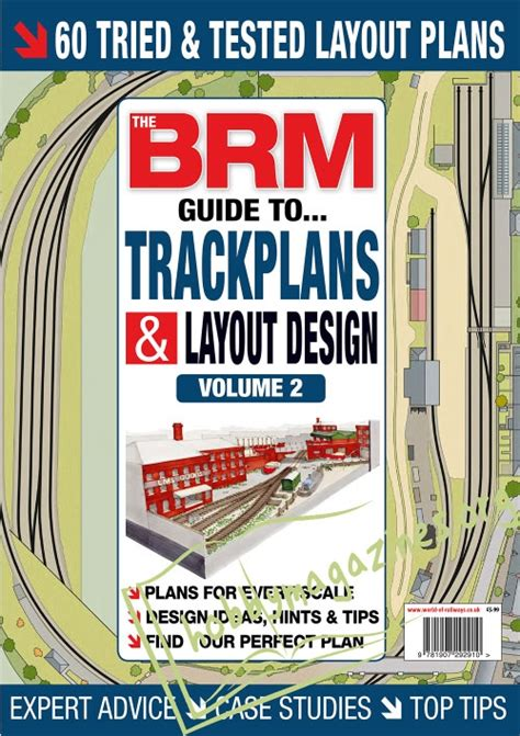s guide to lay volume 1 books the brm guide to trackplans and layout design vol 2