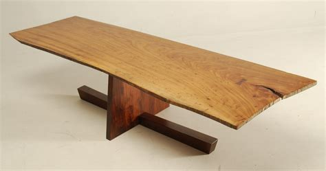 george nakashima coffee table george nakashima inspired coffee table reader s gallery
