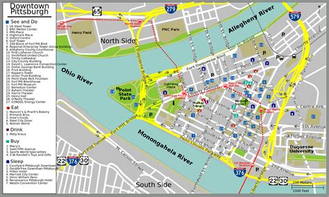 map usa pittsburgh file pittsburgh downtown map svg wikimedia commons