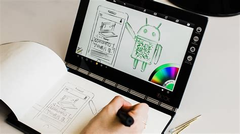 book layout android lenovo yoga book review a special android tablet