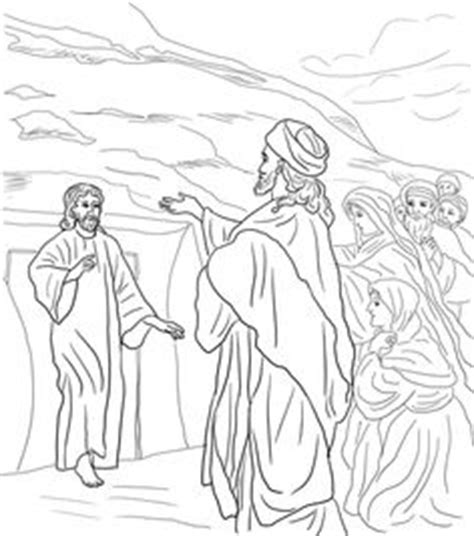 coloring pages jesus raising widow s coloring page zacharias with dec9 zacharias