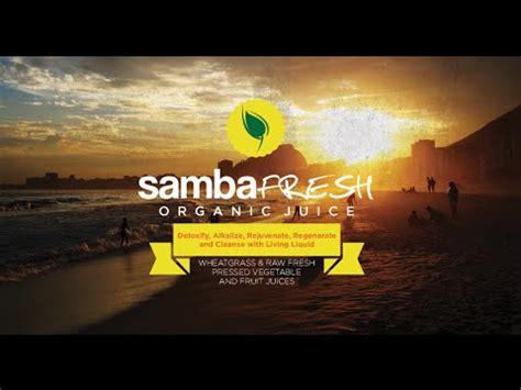 Samba Fresh Detox by Samba Fresh Juice Review Samba Fresh Cleanse Samba