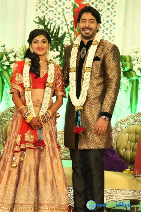 Marriage Pics by Prajwal Devaraj Marriage Reception Stills Prajwal Wedding