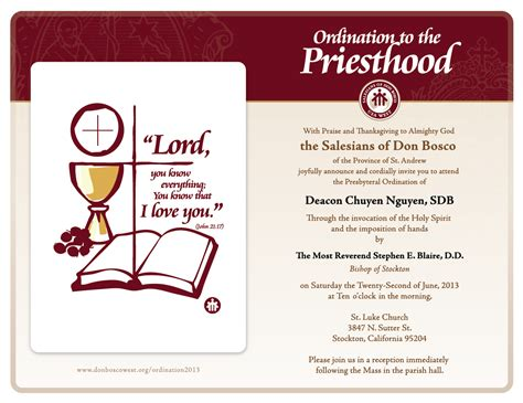 printable ordination invitations invitation to ordination anniversary image collections