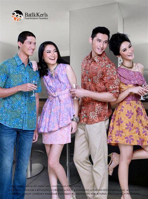 Batik Fashion Wanita Goraja Twoside Wide koleksi blouse batik keris chevron blouse