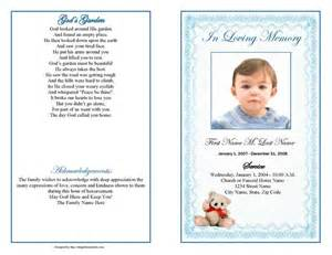 Funeral program templates and also free obituary templates aid ease