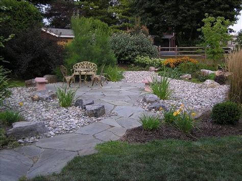 Garden Design Inc A Large Drain Solution Traditional Landscape