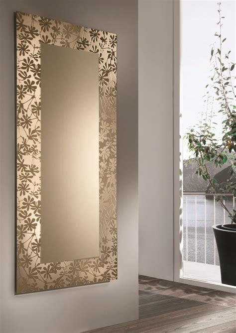 parete a specchio per ingresso specchio quadrato a parete by riflessi design riflessi