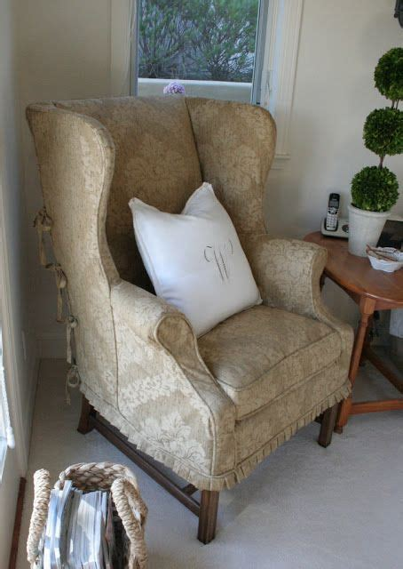 how to make slipcover for wingback chair sew that s it slipcovers slipcover ideas pinterest