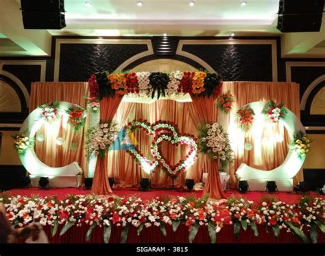 Wedding Reception Decorations reception 171 sigaram wedding decorators