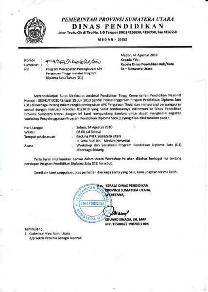Contoh Sppd Yg Benar by Contoh Dan Cara Membuat Surat Dinas Yang Baik Dan Benar