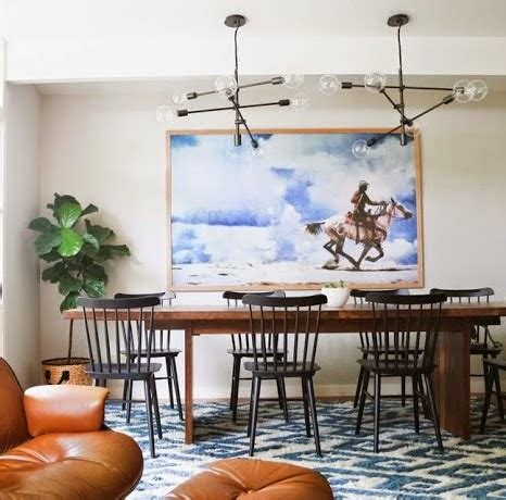 go eclectic and chic in the dining room copy cat chic room redo modern eclectic dining room