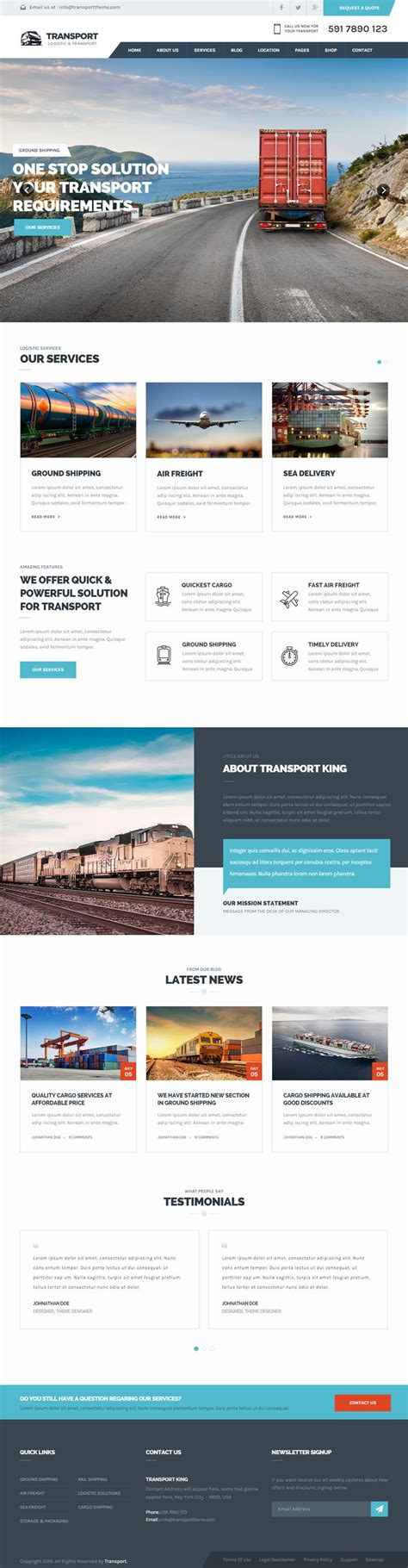 bootstrap templates for logistics 17 best ideas about templates free on pinterest