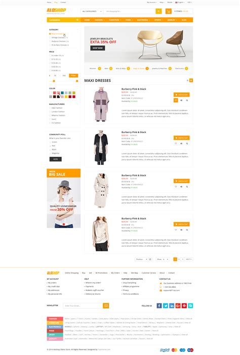 wordpress theme listview alo shop woocommerce wordpress theme by 7uptheme