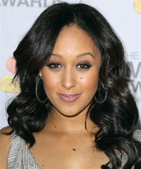 Tamera Mowry Hairstyles by Tamera Mowry Wavy Formal Hairstyle Black