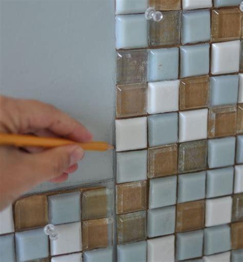 mosaic tile bathroom mirror diy mosaic tile bathroom mirror centsational girl