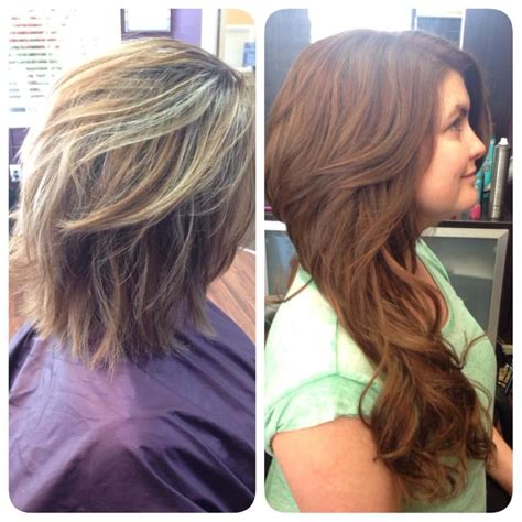 klix hair extensions klix hair extensions before and after real hair hair