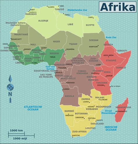 map 0f africa file map africa regions nl png