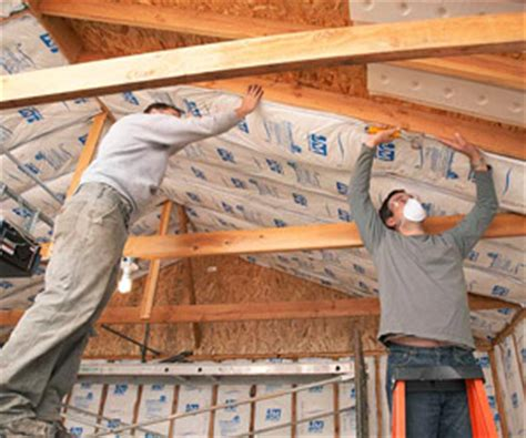 insulation for garage ceiling insulation never easier