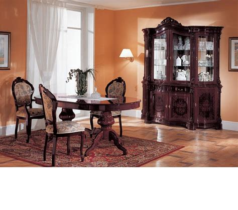mahogany dining room set dreamfurniture com regina mahogany traditional dining set