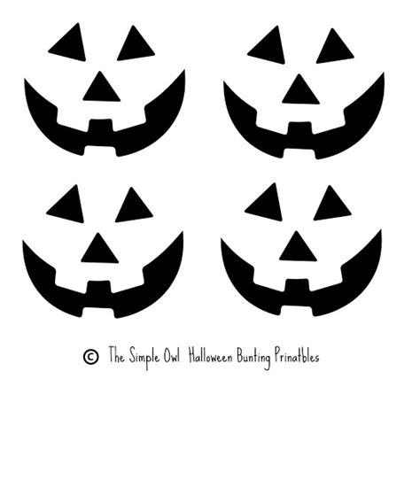 free easy jack o lantern patterns printable free printable easy funny jack o lantern face stencils
