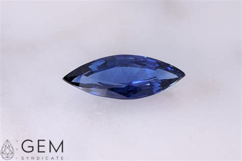 blue sapphire 4 35ct 1 35ct marquise blue sapphire 11 90mm x 4 70mm gem syndicate