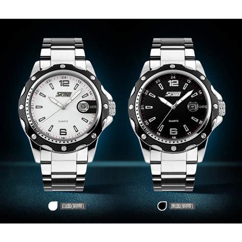 skmei jam tangan pria black stainless steel 1131bgn skmei jam tangan analog pria stainless steel 0992c